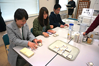 食品学科 1年 新入生宿泊研修